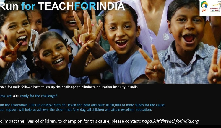 Running for Teach For India