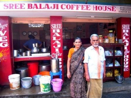 Tea Shop owner couple dream to visit USA