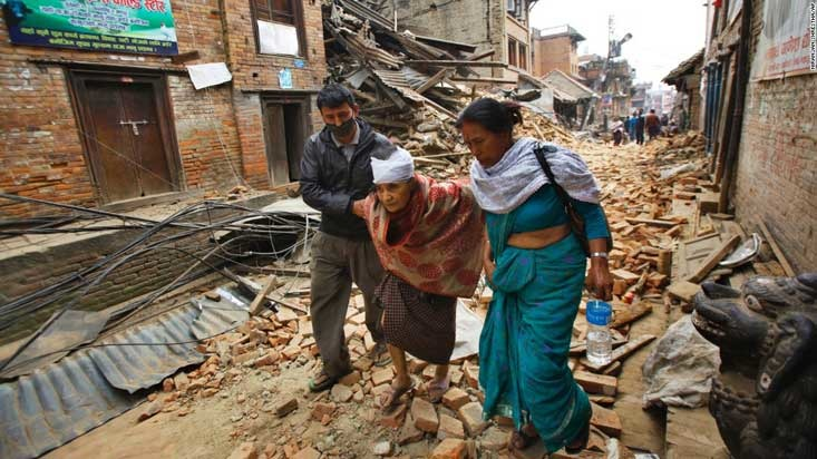 Lend a helping hand to Nepal