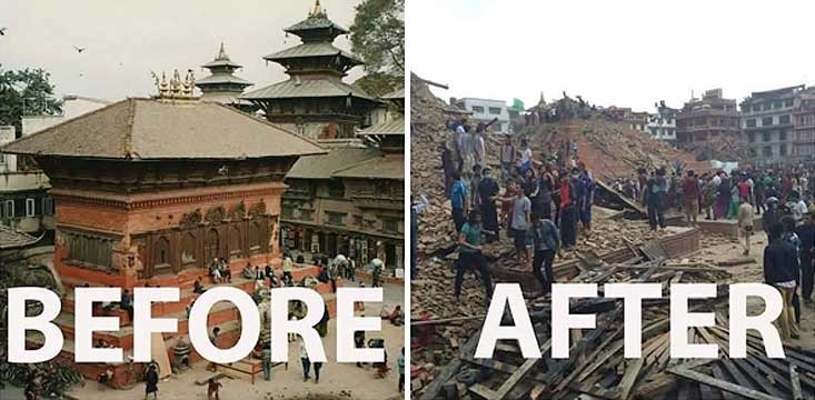 Fundraising for Nepal Disaster Relief