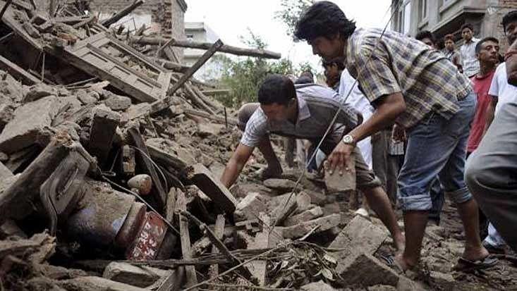 Help the Nepal earthquake victims