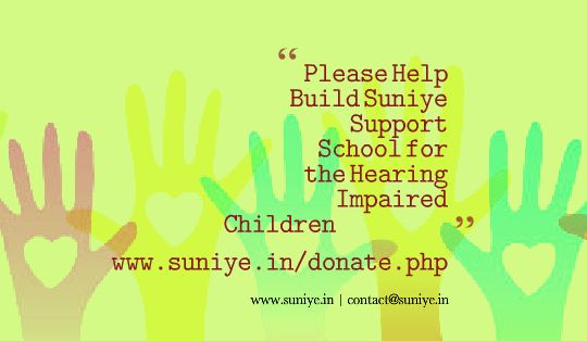 Build Support School for Hearing Impaired Children