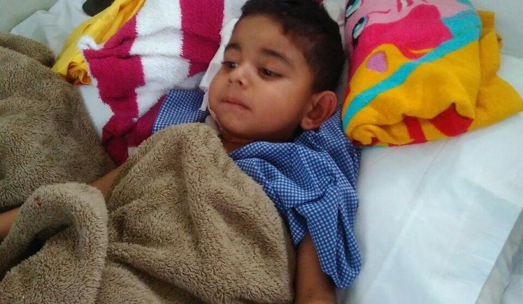 SAVE MASTER KHAGESH FIGHTING FOR HIS LIFE.