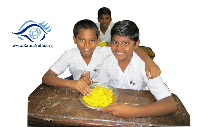 Feed 4500 Slum Children by Contributing Rs.7 a day