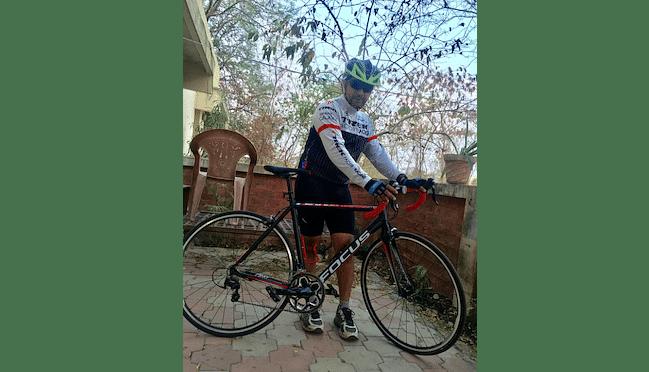 Support Vijay Bhawsar for Infinity Ride 2019 Aditya Mehta Foundation