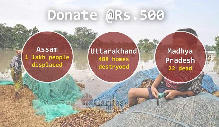 FLOODS PARALYZING INDIA- SEND HELP?