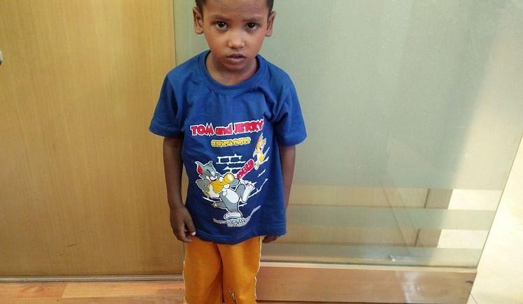 Let's gift little Abhishek a heart-y life!