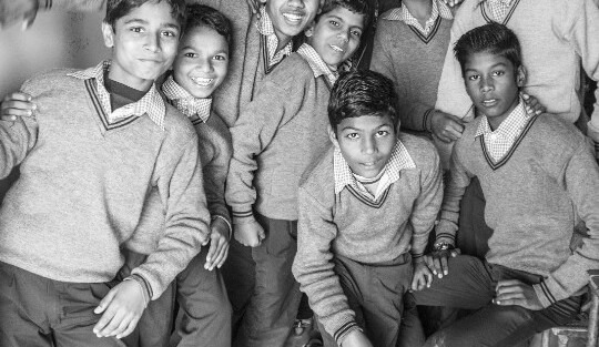Support the 60 boys of Ayesha and Karthik's class