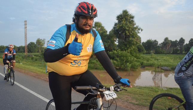 Support Praveen Kumar for Infinity Ride 2019 Aditya Mehta Foundation