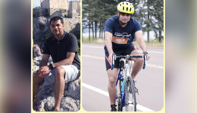 Support Darshan Baldev for Infinity Ride 2019 Aditya Mehta Foundation