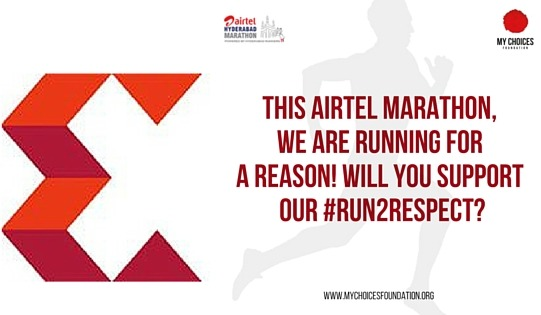 #Run2Respect Airtel Hyderabad Marathon