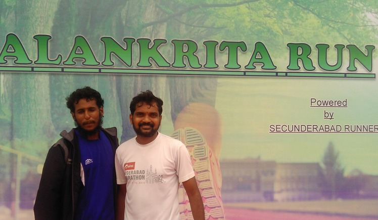 Run with and for Visually challenged