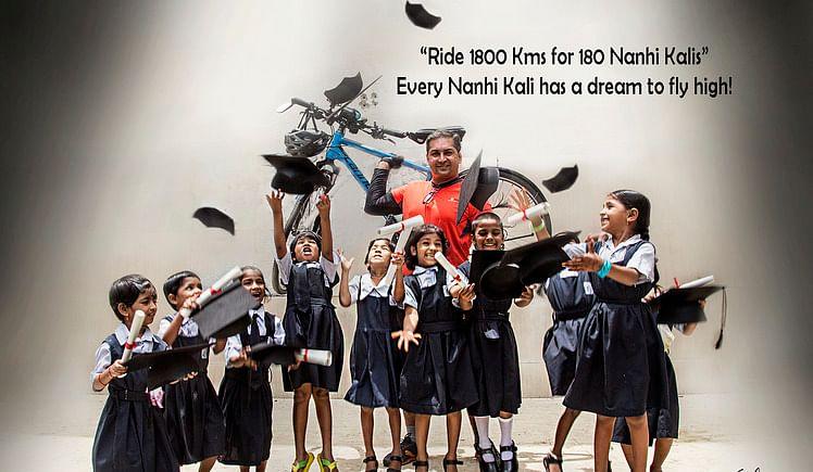 Ride 1800 kms for 180 Nanhi Kalis