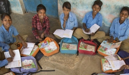 Setting up small Libraries for poor students