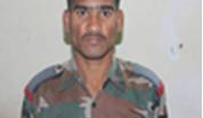 Education fund for Sepoy KV Janardhan's daughter