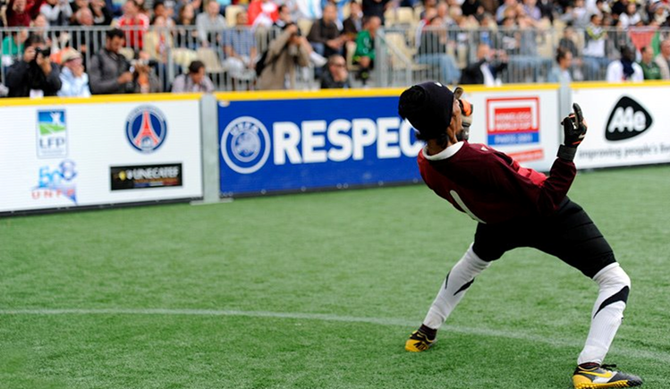 Team India at the Homeless World Cup