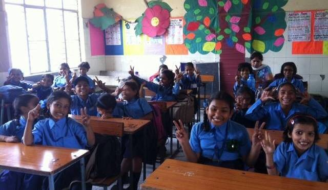 Transform Lives of 40 Delhi Slum Girls (My Little angels)