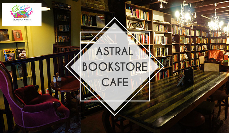 Raising funds for Astral Bookstore Cafe