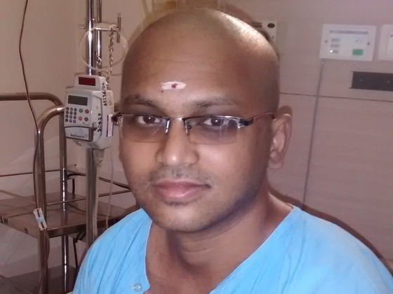 Help venkateshkumar to get relief from blood cancer