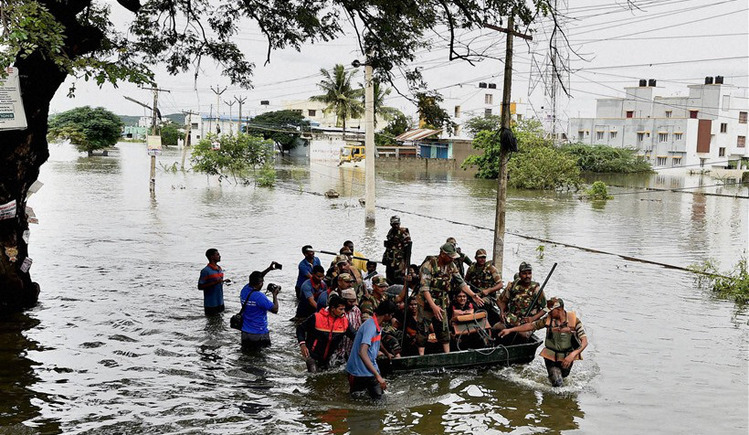 Rebuild lives of the victims of the Chennai floods