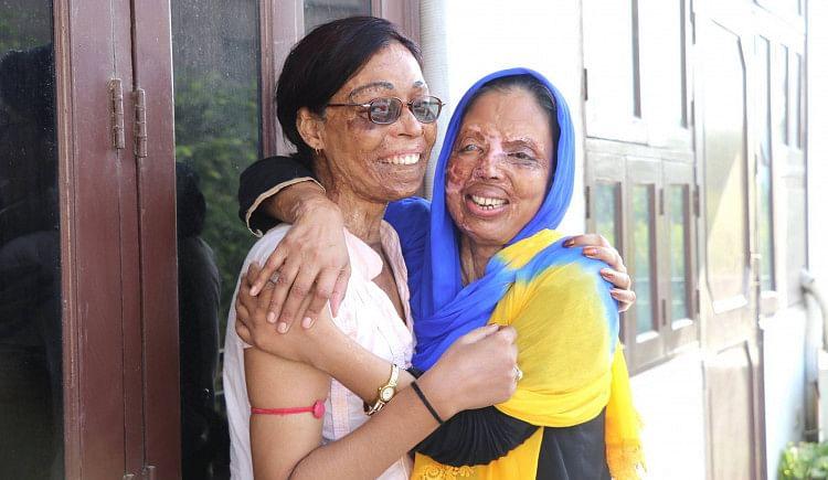 Rehabilitation center for acid attack survivors