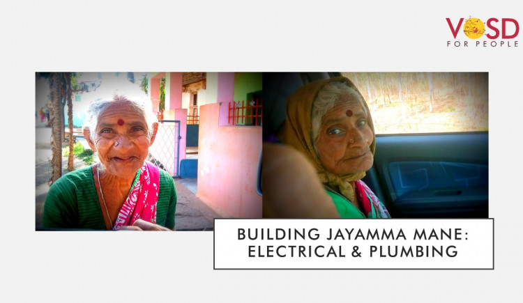 Building Jayamma Mane: Electrical & Plumbing