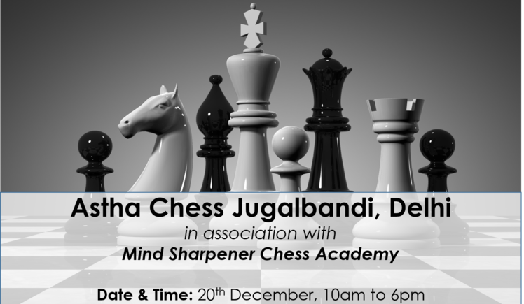 Chess Jugalbandi Delhi - Rs. 25K and 2 days to completion!
