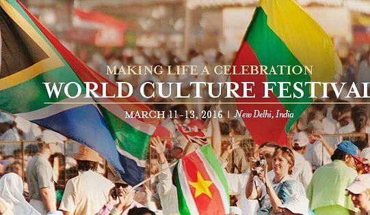 Art of living world cultural festival