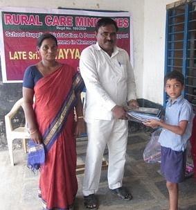 Education to un-privileged children in Guntur district  rural areas