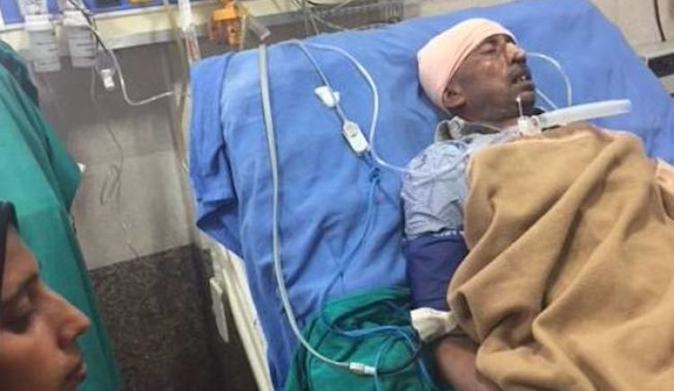 Kasganj riots victim is in ICU, needs our support.