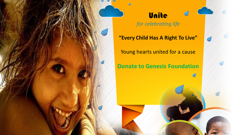 The Young Hearts Charity Drive - United for Genesis Foundation