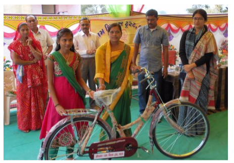 Help raise funds to purchase cycles for underprivileged girls