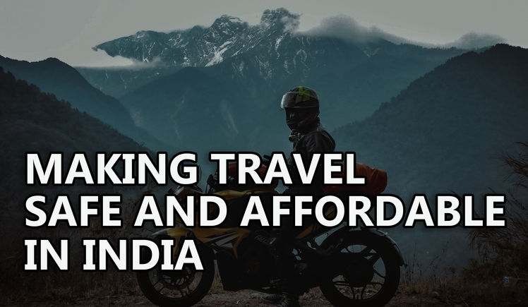 Help make travel safe and affordable in india by sai bhagyaraj help make travel safe and affordable in india publicscrutiny Choice Image