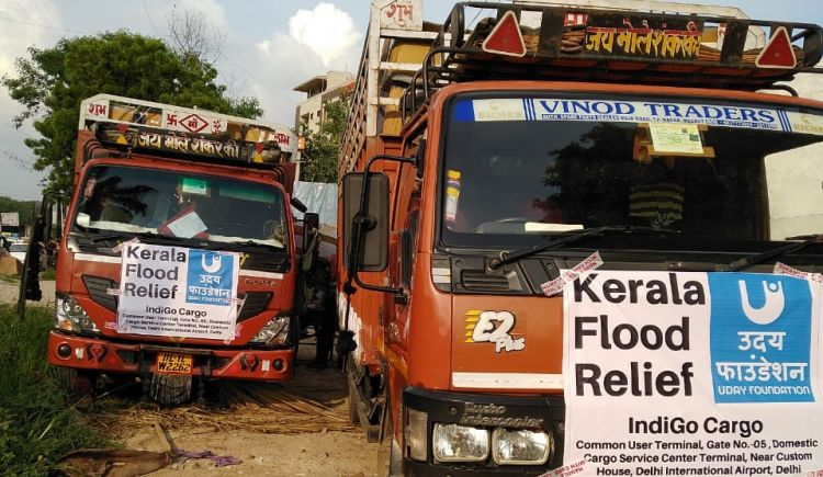 Help us provide aid to victims of Kerala floods