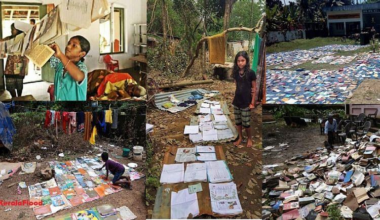 Rebuilding Libraries of Kerala thru Book Donations