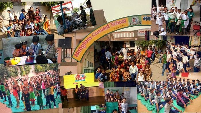 School Transformation - Manglam Convent School