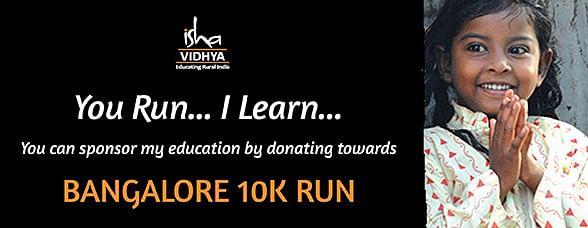 Running for Isha Vidya
