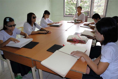 You Can Help Blind Students Achieve Their Dreams