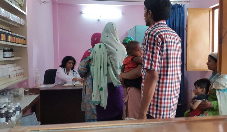 A Health Centre for the underprivileged