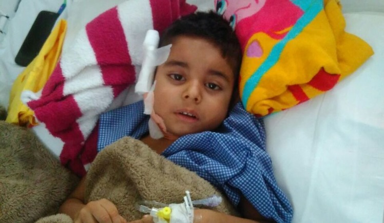 Young khagesh and his family needs our help
