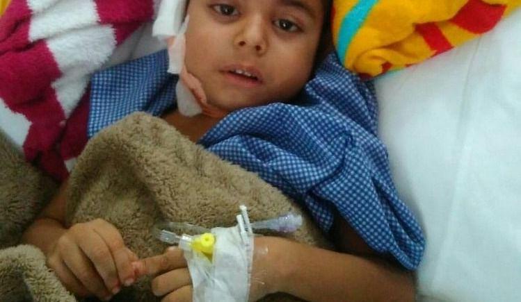 HELP US TO HELP HIM- Mast. Khagesh needs your help