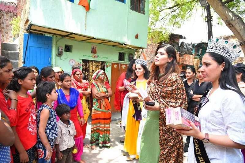 Help Diya Mehta Raise Funds For Sanitation Support For