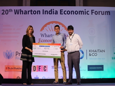 start-up, Ketto, grand prize, Wharton