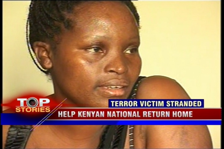 Kenyan woman patient stuck in India, no money to go back home